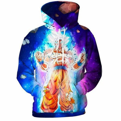 Dragon Ball Z Super Goku Vegeta Hoodies T-Shirt