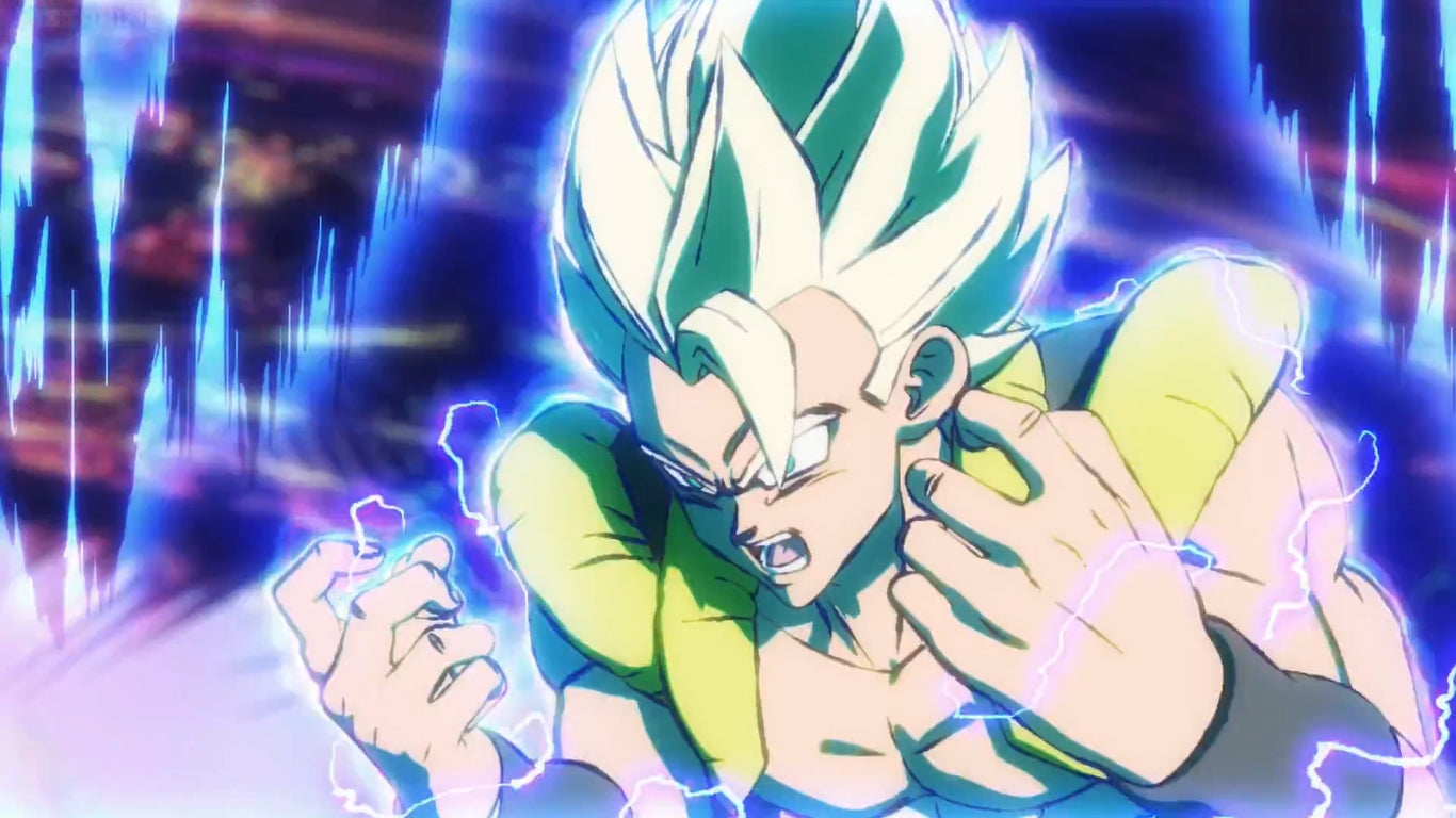 Gogeta vs Broly Dimensional Fight