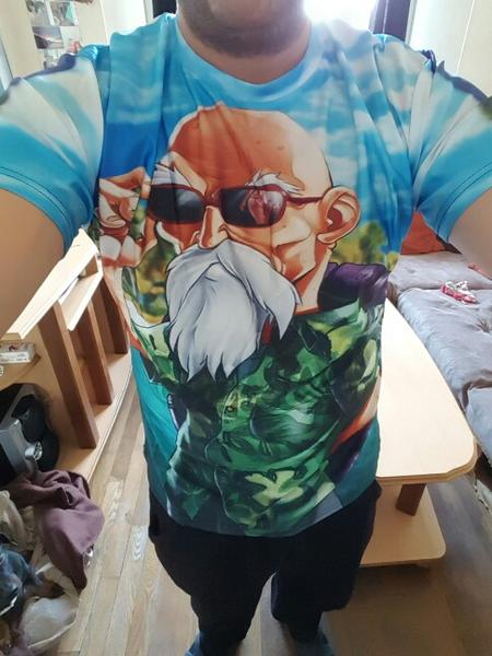 Dragon Ball Z Master Roshi 3d T Shirt Summer Hipster High Quality