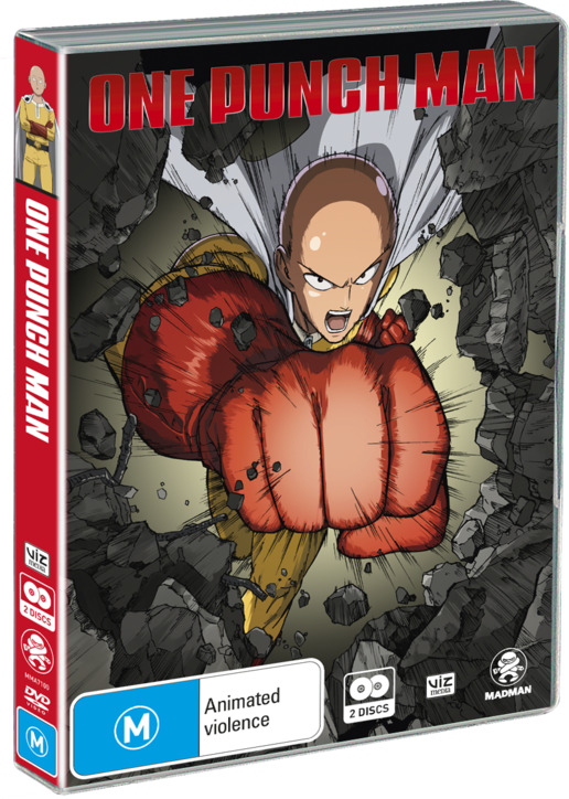 One Punch Man DVD Anime Complete TV Series 1-12 END + OVA English Subtitles - ZSHOPIT