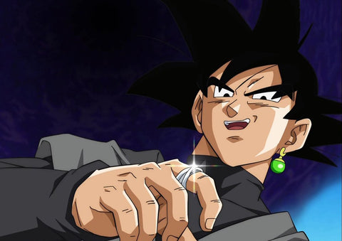 Black Goku Time Ring - ZSHOPIT