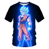 Dragon Ball Z 3D printed Tshirts Tee shirt unisex Strong Son Goku Tops - ZSHOPIT
