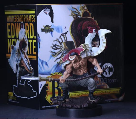 One Piece Anime Action Figure WHITEBEARD Pirates Edward Newgate Collectible Model Toys Figures - ZSHOPIT