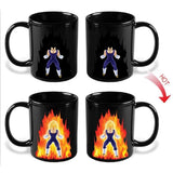 DBZ Vegeta Reactive Color Changing Mug For Tea Milk Coffee - ZSHOPIT