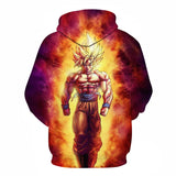 Dragon Ball Z Goku Super Saiyan Legendary 3D Hoody Sweatshirts - ZSHOPIT