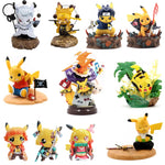POKEMON Toy Action Figure Anime cosplay Pocket Monster Pikachu Collect Decoration Toy For Kids Gift - ZSHOPIT