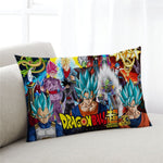 Dragon Ball Son Goku Printed Pillows Cover Soft Decorative case gift - ZSHOPIT