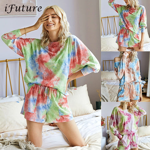 Original Design Fashion Print Casual Top Shorts Two-Piece Suit - ZSHOPIT