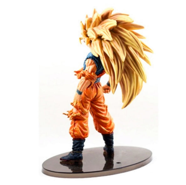 Dragon Ball Z Super Saiyan 3 Son Goku  PVC Action Figure - ZSHOPIT