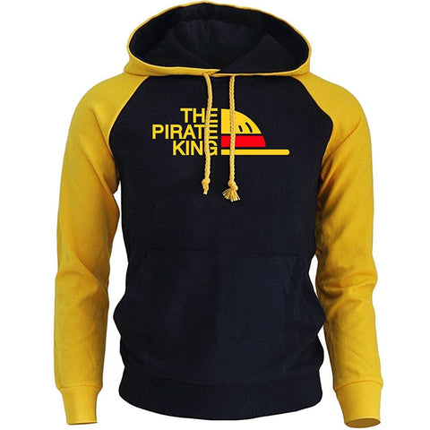 One Piece THE PIRATE KING Streetwear Hoody - ZSHOPIT