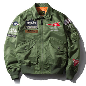 Air Force Military Jacket for Men - ZSHOPIT