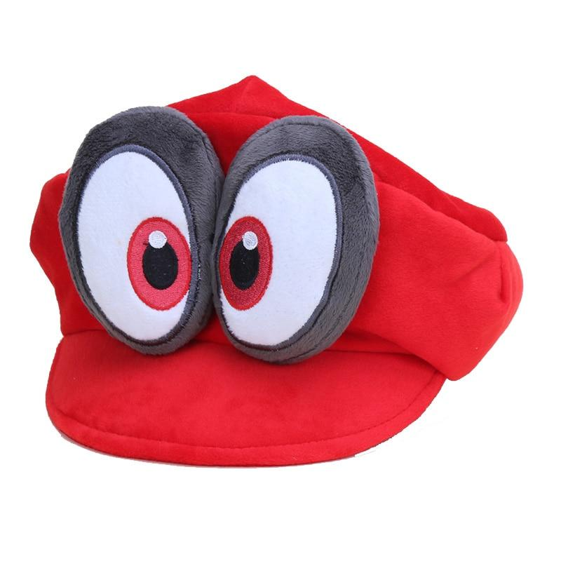 Game Super Mario Odyssey Hat Adult Kids Anime Cosplay Caps Super Mario Bros - ZSHOPIT