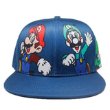 Game Super Mario Bros Baseball Trucker Hat Cotton Luigi Adjustable  Cap Cosplay - ZSHOPIT