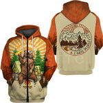 Bear Hunting Camping Funny  Zipper/Hoodies/Sweatshirts/Jacket for Men/Women - ZSHOPIT