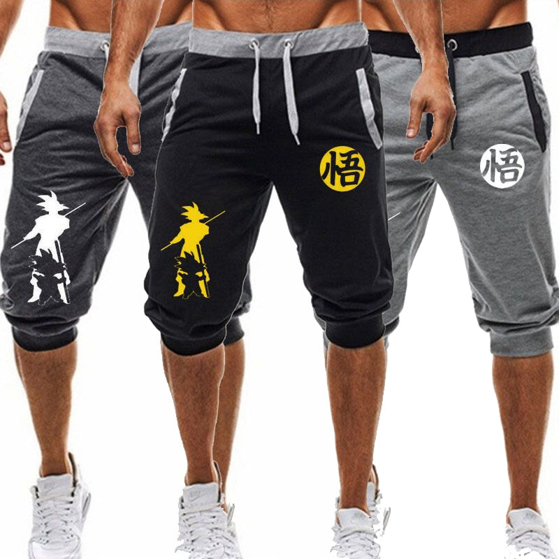 Men's Hip Hop Dragon Ball Sports Short sweetpants - ZSHOPIT