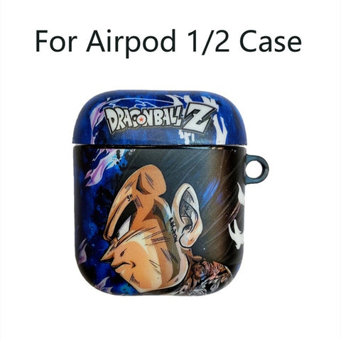 Dragon Ball Soft Case for Apple Airpods Bluetooth 1 2 3 Pro Case Cover - ZSHOPIT