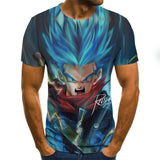 Dragon ball z Super Saiyan Son Goku  Fashion Tee Men / Boys Cartoon T Shirt - ZSHOPIT