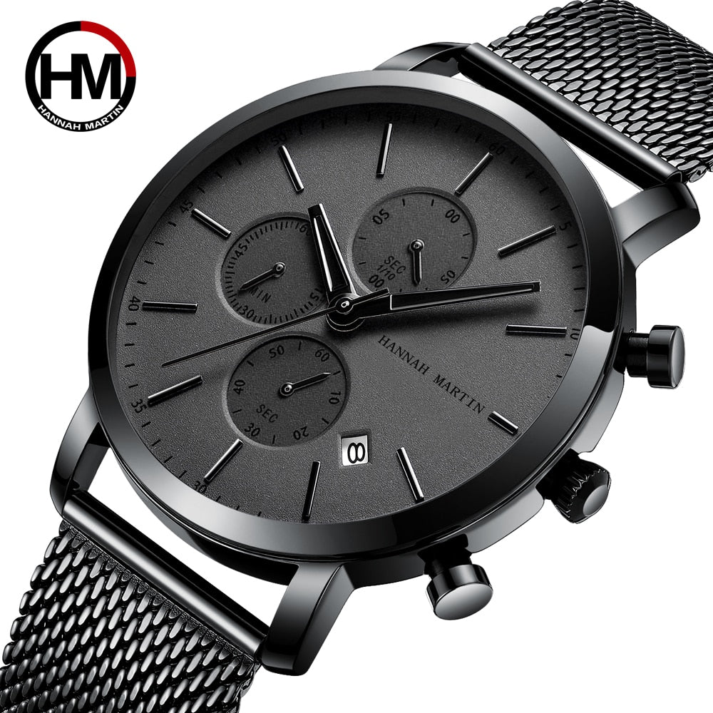 Men Watches Top Brand Fashion Business Waterproof - ZSHOPIT