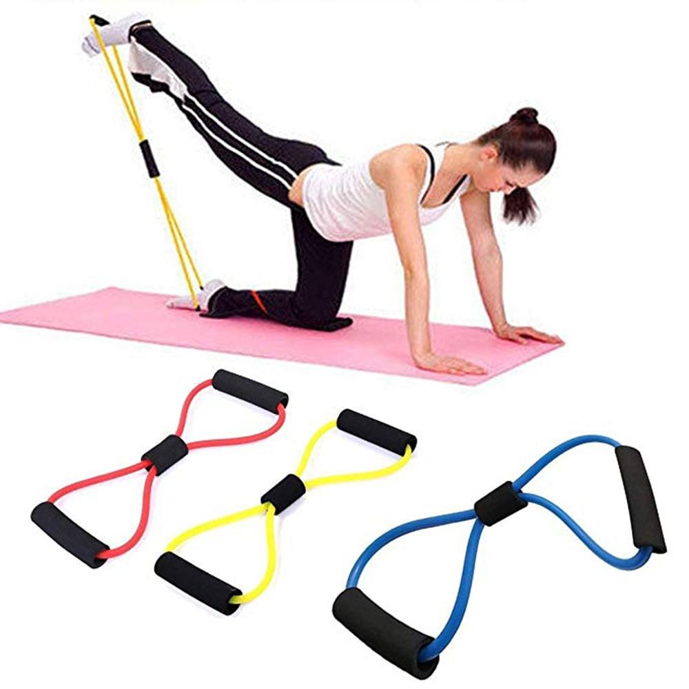 Yoga Resistance Elastic Band Sports for Home Gym Fitness - ZSHOPIT