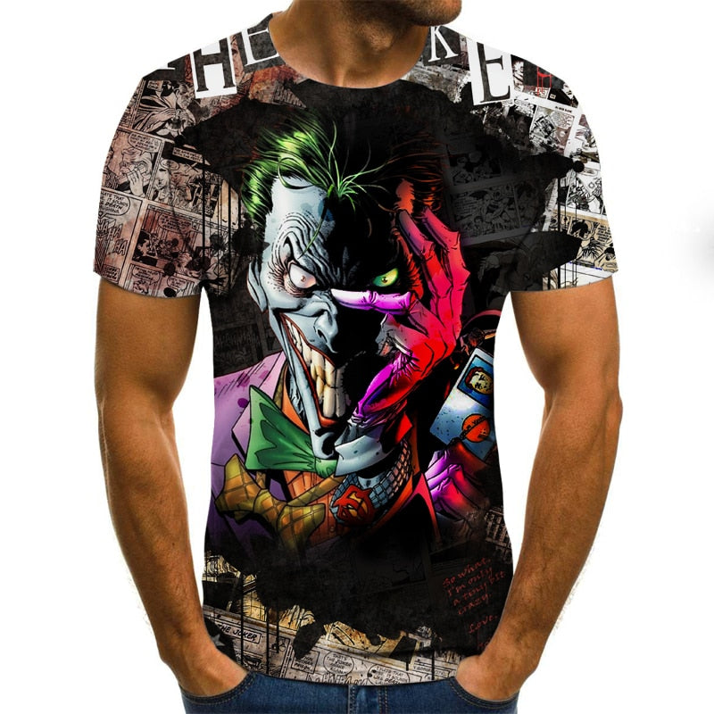 The Joker 3D T-shirt 3D Fashion Vintage - ZSHOPIT