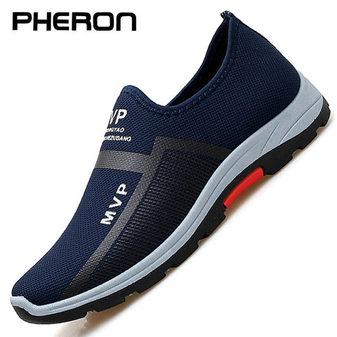 MVP Mesh Men Shoes Lightweight Sneakers Men Fashion Casual Walking Shoes Breathable - ZSHOPIT
