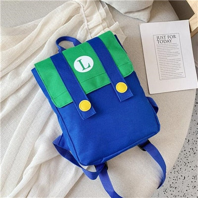 Super Mario Backpack Cosplay anime Schoolbag - ZSHOPIT