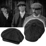 Tommy Shelby Peaky Blinder Men's Winter Hats  Vintage Berets Gatsby - ZSHOPIT