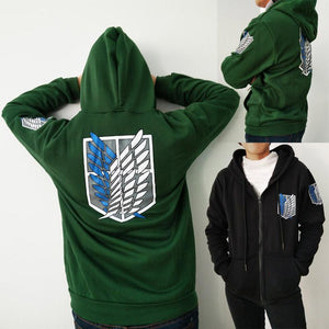 Attack on Titan Shingeki no Kyojin Hoody Sweatshirt For Men & Women - ZSHOPIT