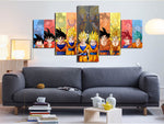 Goku Forms Canvas - ZSHOPIT