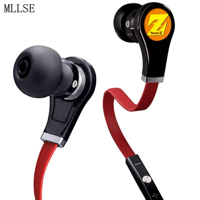DragonBall Z Stereo Earphones for Iphone Samsung MP3 PS4 - ZSHOPIT