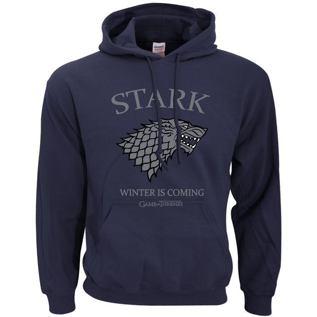 Game of Thrones House Stark Winter Is Coming Hoodie - ZSHOPIT