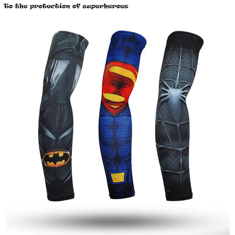 Avengers Superheros Arm Warmers Quick Dry 3d Print Unisex Workout Arm Sleeves - ZSHOPIT