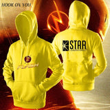 The FLASH sweatshirt hoody comfortable jacket - ZSHOPIT