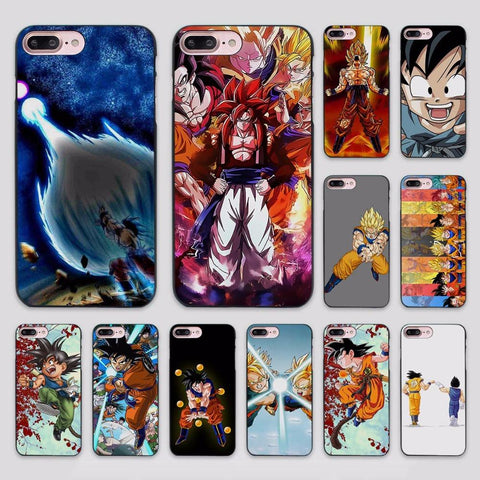 Dragon Ball Z Design Case Cover for Apple iPhone 7 6 6s Plus SE 5 5s 5c 4 4s - ZSHOPIT