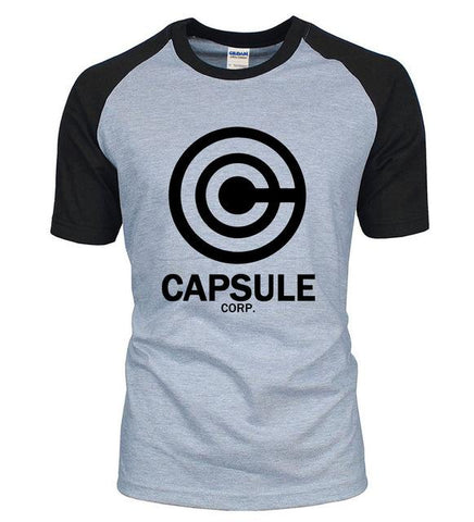 Dragon Ball Z Capsule Corp T-Shirt - ZSHOPIT