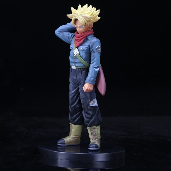 Dragon Ball Z Super Saiyan Trunks Black Goku Boxed PVC Action Figure Model Gift - ZSHOPIT