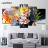 Dragon ball Z Vegeta Poster art HD Print - ZSHOPIT