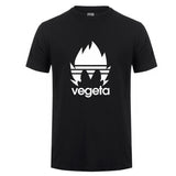 Vegeta Dragon Ball Z T Shirts Men Summer Cotton - ZSHOPIT