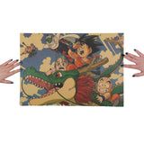 Dragon Ball Son Goku Bulma Krillin Poster Wall Sticker Decorative - ZSHOPIT