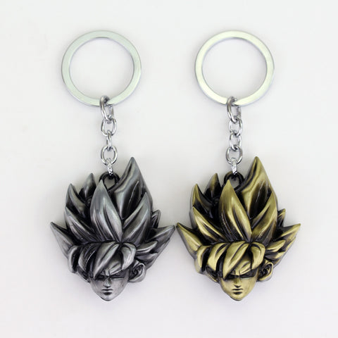 Dragon Ball Super Saiyan Goku Keyring Metal - ZSHOPIT