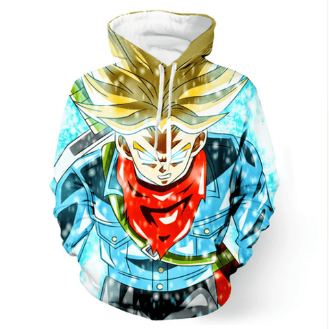Dragon  Ball Super Trunks Hoodie - ZSHOPIT
