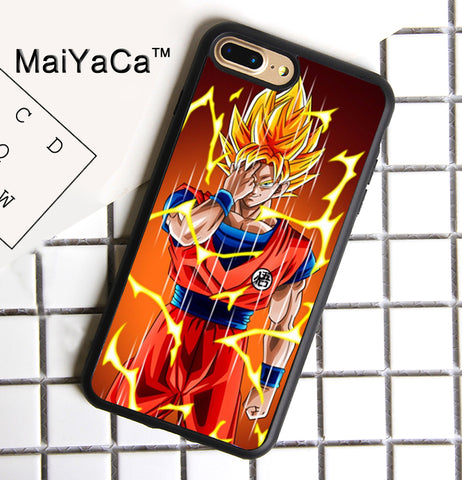 Super Saiyan Goku Phone Case For iPhone 7 Plus - ZSHOPIT