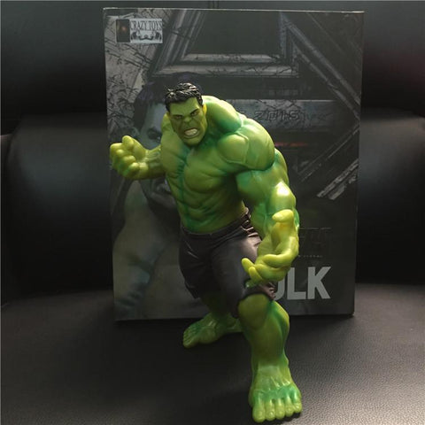 22cm The Avengers Superheros Vinyl Green Hulk Action Figures - ZSHOPIT