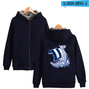 Vikings Hoodies With Zipper - ZSHOPIT
