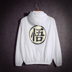 Dragon Ball Thin Sun Protection Hooded  Jacket - ZSHOPIT