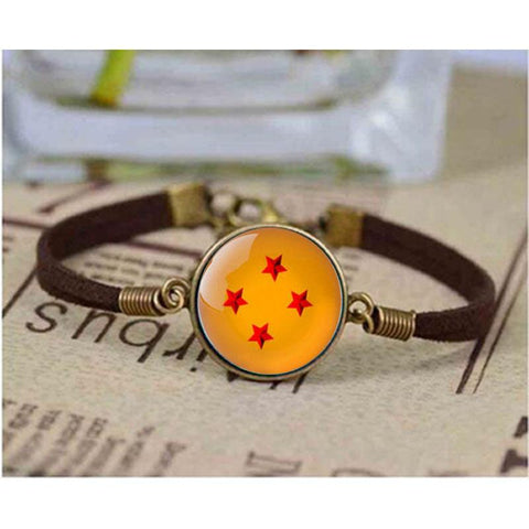Dragon Ball Z 4 star Bracelet For Men & Women - ZSHOPIT