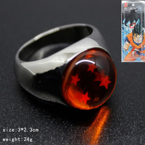 Four Star DragonBall Ring - ZSHOPIT