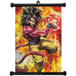 Dragon Ball Super Saiyan 4 Goku Home Decor Wall Scroll Poster - ZSHOPIT