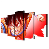 Canvas DBZ Super Goku Paintings Poster Framework - ZSHOPIT