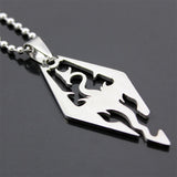 Silver Color Skyrim Dragon Jewerly - ZSHOPIT